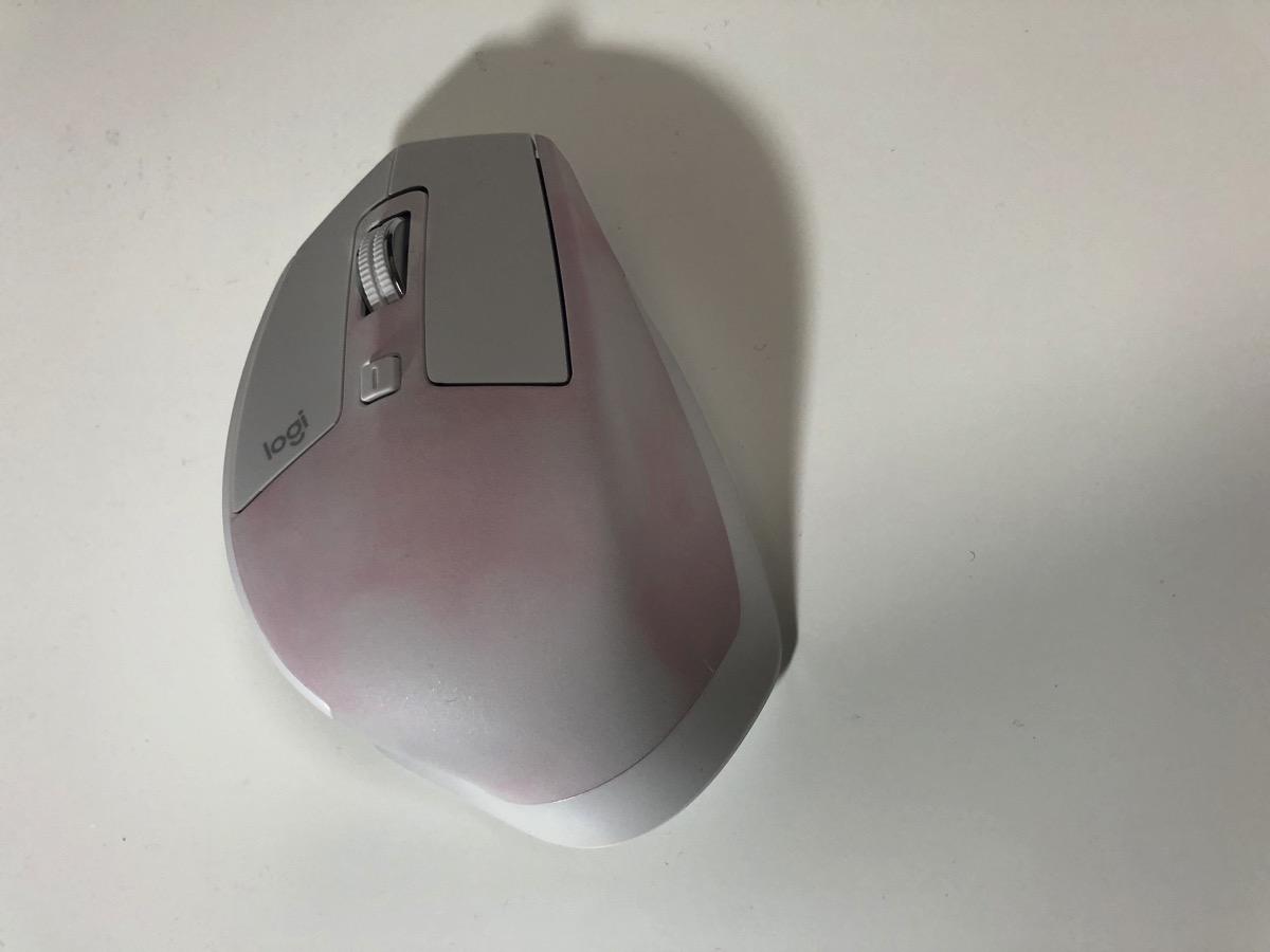 マウス 変色6