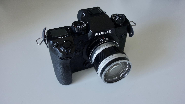 FUJIFILM X H1 オールドレンズ3