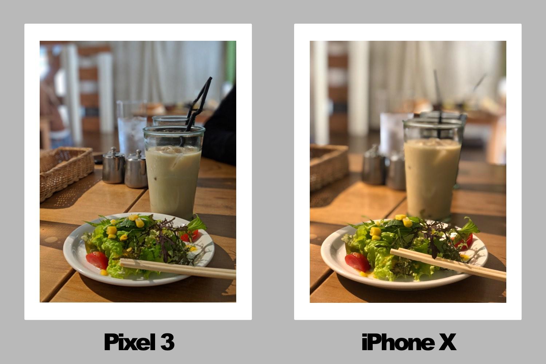 食べ物の比較